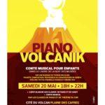 Piano volcanik dans le cadre de la Nuit des Musées 2017