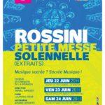 Rossini : extraits de la petite messe solennelle par le Choeur de Chambre de la Réunion