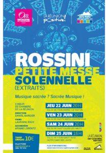 ROSSINI : PETITE MESSE SOLENNELLE (EXTRAITS) par le Choeur de Chambre de la Réunion @ Eglise de Trois Mares au Tampon