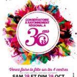 le CRR fête ses 30 ans les 28 et 29 octobre sur les 4 centres