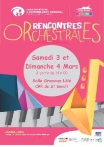 Rencontres orchestrales @ Salle Gramoun Lélé à St Benoît