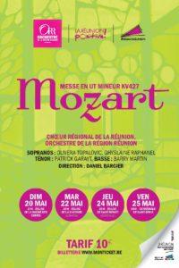 Grande messe en ut mineur de Mozart (KV427) par le Choeur Régional de La Réunion et l'Orchestre de la Région Réunion @ Eglise de Saint-Benoît, Centre Ville