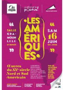 LES AMÉRIQUES @ Salle Gramoun Lélé, Saint-Benoît