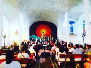 Concert du Choeur de Chambre et des musiciens du CRR dans le cadre des Jours de Feux de la Mairie de Ste Rose @ Eglise Notre Dame des Laves à Ste Rose