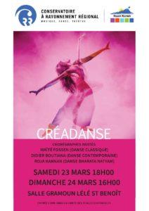CREADANSE @ Salle Gramoun Lélé, Saint-Benoît