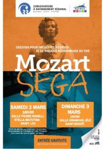 MOZART SEGA @ Salle Pierre Roselli, Musée Stella Matutina, St Leu