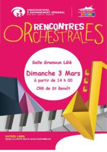 RENCONTRES ORCHESTRALES @ Salle Gramoun Lélé, Saint-Benoît