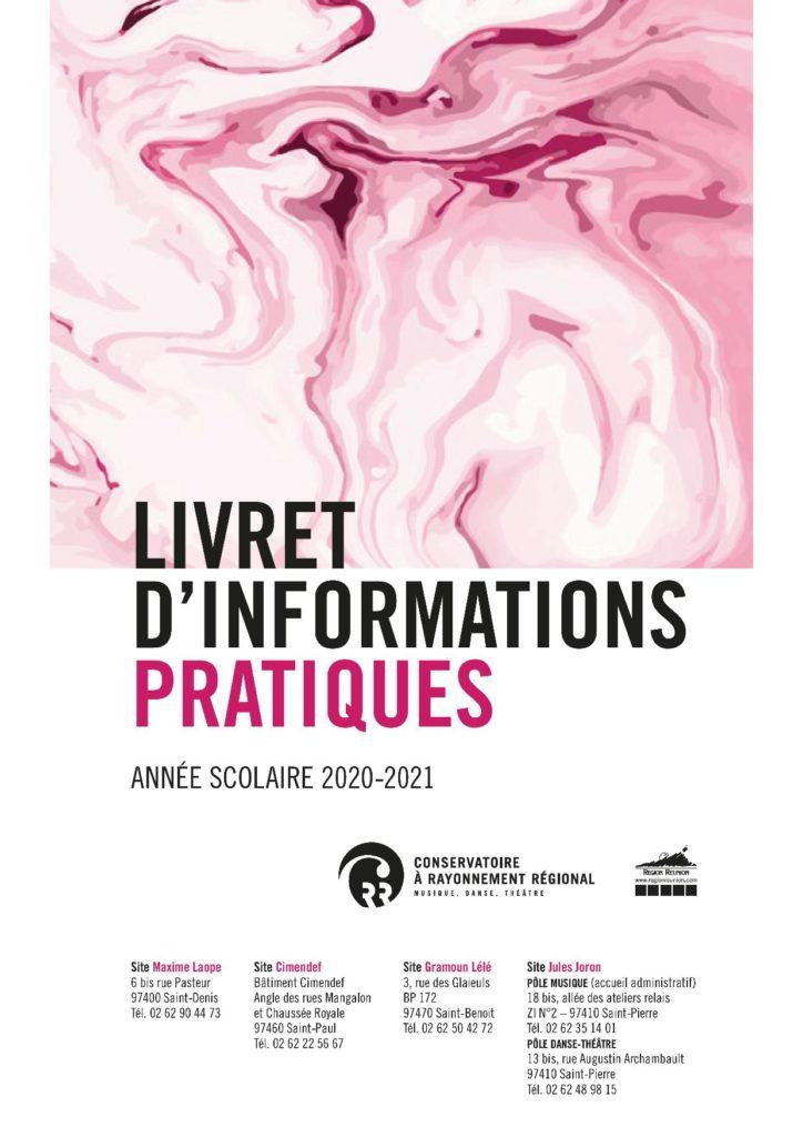 LE LIVRET D'INFORMATIONS PRATIQUES