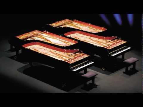 Concerto pour 4 pianos Bach Vivaldi et œuvres de Grieg, Lekeu, Elgar, Puccini, Britten