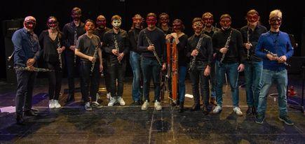 La Bande de Hautbois et les élèves du CRR